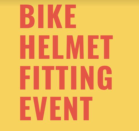 Bike Helmet Fitting Event