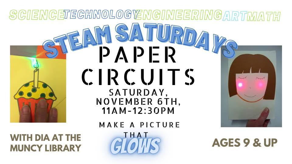 STEAM Saturdays: Paper Circuits